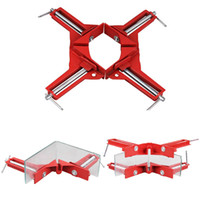 Wholesale Corner Photo - Wholesale- 90 Degree Right Woodworker Angle Fixture Corner Clamps Picture Photo Holder Jig Woodworking Tool 2016 HOt Sale