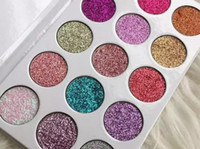 Wholesale Wholesale Glitter Items - 2017 NEW arrival Glamierre Unicorn Glitter Eyeshadow Palette 15 Colors eye shadow hot item by dhl