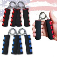 Wholesale Muscle Building Gym - Foam Hand Grippers Forearm Grip Strengthener Grips Hand Muscle Building Strength Training Grip Gym Fitness Equipment OOA2711
