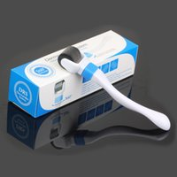 Wholesale Thin Skin Whitening - 360 Degree Rotation 540 Pin Roller Microneedle Derma Roller Micro Needle Face Roller Cured Wrinkles Whitening Repair Skin Acne