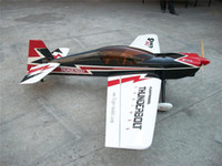 "Wholesale Gas Rc Airplane Model - Wholesale- New Balsa Wood 74.8"" Large Sbach 342 30cc 3D Flying Gas RC Airplane Model ARF Flight Model"