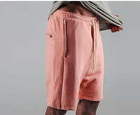 2017 Justin Bieber Шорты Kanye Drop Crotch Drawstring Sweat Shorts Застежка -молния Mens Hip Hop Harem Short Pants M-XL