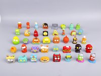 Wholesale Play Action - HOT SALE 20Pcs lot The Grossery Gang Mini Action Toy Figures Kid's Playing Model Dolls Christmas Gift Toy