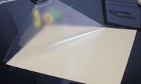 vinilo adhesivo a4 al por mayor-Al por mayor- 2016 A4 transparente película transparente autoadhesiva etiqueta de vinilo para impresora láser 21 x 29 cm