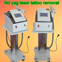 Wholesale Popular Tattoos - Most popular portable nd yag laser machine for tattoo removal pigment removal skin whitening carbon peeling treatment home salon use