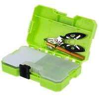 Wholesale JAKEMY PJ Assorted Fishing Tackle Set Box Fishing Accessories Kit Jp pj2002 Double Sided Fishing Tackle Box