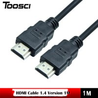 Wholesale Computer Dvi Hdmi - High speed Gold Plated Plug Male-Male HDMI Cable 1.4 Version HD 1080P 3D for HDTV XBOX PS3 computer