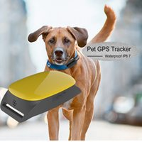 Wholesale Small Hand Held Gps - Professional Waterproof Small GPS Tracking Dogs Anywhere TK108 Can Insert Collar for dog pet Monitor Tracking Anti-theft Alarm Tool Device