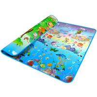 Wholesale Eva Play Mats - Wholesale- 1pc EVA Baby Play Mat Infantil Playmat Form Newborn Tapete Kids Play Carpet 200*180cm Baby Toy -- BYD003 PT15
