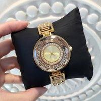 Wholesale Diamond Edition - 2017 Fashion Women Watch With Diamond Big Dial Blue Special Design New Model Lady Wristwatch Steel Gold Color free shipping with box