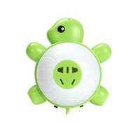Wholesale Turtle Light Wholesale - Baby turtle LED Night Light, with light Sensor and Dual USB Wall Charger, in the Dark for Hallway Bathroom bedroom Living Room Kitchen