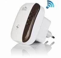Wholesale Wireless N Wifi Repeater Signal Booster n b g Network Mini WiFi Adapter Mbps Wi fi Range Expander Wps Encryption