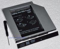 Wholesale Sata Ide Hard Drive Caddy - Wholesale- 2nd HDD SSD Hard Drive Caddy Adapter for Asus F3KA F3Sg TS-L632H G1S GSA-T20L