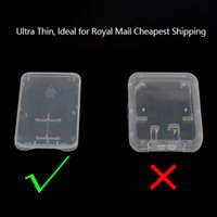 Wholesale Best Wholesale For Memory Card - Ultra Thin Plastic TF Card Case SD Card Case 2 in 1 Memory Card Storage Box Case Best Solution for Royal Mail Cheapest Shipping