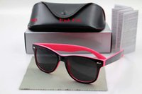 Wholesale Pink Select - Free Shipping High Quality Women's Ladies Designer Sunglasses Tortoise Big Frame UV400 Sun Glasses With Box Case Select