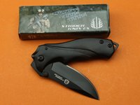 Wholesale Strider Small - Strider B42 B43 Small Pocket Folding Knife 3Cr13 56HRC Black Blade Outdoor Tactical Camping Hunting Survival Knife Utility EDC Hand Tools