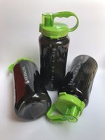 sport nutrition - Herbalife Nutrition Mega Half Gallon oz Shake Sports Water Bottle Tritan Plastic Black with Green Lid