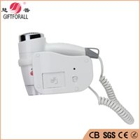 Wholesale Wall Mount Salon - Wholesale- Euro 2016 Bathroom Hair Dryer Hotel Wall Mounted Blower Dryer Salon hair dryer professional Secador De Cabelo