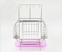 Wholesale kitchen storage standing type folding rack