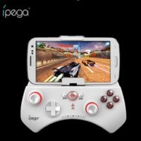 Wireless Bluetooth Gamepad Ipega PG-9025 Gaming Controller Joystick Joypad per iOS Android Cell Phone Tablet PC Nero Bianco Disponibile