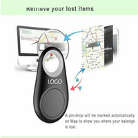 Wholesale Locator Finder Gps - Micro Mini Smart Finder Smart Wireless Bluetooth 4.0 Tracer GPS Locator Tracking Tag Alarm Wallet Key Pet Dog Tracker with Retail box OM-CH3