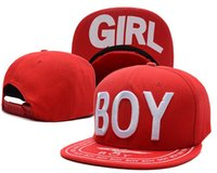 Wholesale Boy London Snapbacks - Boy Girl Snapback Hat Boy London Cap Fashion Hip Hop Snapbacks Men Women Summer Beach Sun Hats Cool Party Caps
