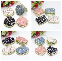 Wholesale Silk Embroidery Crafts - Free shipping Silk Embroidery Crafts Embroidered Double Mirror Carrying Gifts HM004 mix order as your needs