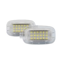 Wholesale Door Step Light - Super Bright 2x white car courtesy step door light No Error Code LED auto replacement accessory lamp for W211 ML-Class W164 5D GL-Class x164