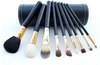 Wholesale Goat Hair Brushes Set Cylinder - Aramis cylinder MC makeup brush sets makeup pen   make-up brush limited edition 9pcs set