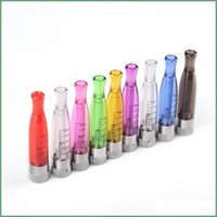 Wholesale Dct Replace - New GS-H2 Clearomizer atomizer E-Cigarette GS H2 Atomizer Replace CE4 ce5 ce6 dct Cartomizer all For eGo 510 batter series 7 colors AT019