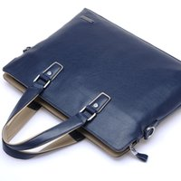 Wholesale Portable Computer Bag - The new 2017 leather men's bags business portable document computer one shoulder bag men's leather handbags