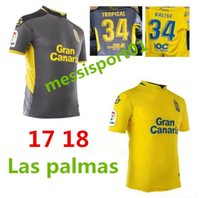 Wholesale Top Men Shirt Shipping - hot top quality 17 18 Las Palmas soccer jersey Casual shirts 2017 2018 Las Palmas shirts New Leisure Best Quality Casual free shipping