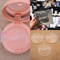 Wholesale Transparent Sheer Bras - eSpoir Cheap Transparent Clear Powder Puff Silicone Sponge Blender Face Foundation Makeup Tools with Bag Factory Price