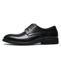 """Wholesale Taller Wedding Dress - Brand Wholesale 2.75"""" Taller Elevator Height Increase Cap Toe Brogue Classic Shoes Lace-Up Men Oxfords Formal Shoes Black   Brown"""