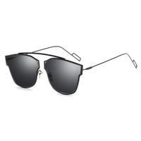 randlose gläser großhandel-ROYAL GIRL Frauen Markendesigner Sonnenbrille Randlose Retro einfarbig objektiv 2017 Gläser SS930