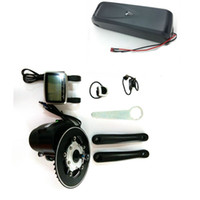 Wholesale Electric Bicycle Motor 48v - Tongsheng TSDZ2 Mid Drive Central Motor Conversion ebike Kit,Torque Sensor 48V 500W Electric Bicycle Motor With 48V 10Ah Battery