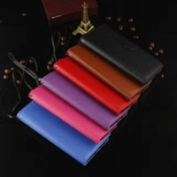 Wholesale Pink I5 - For S6 S7 Samsung Galaxy Edge Case Hit Color Card Slot PU Leather Wallet Cases Cover For iPhone 6 6S 7 i5 5S SE