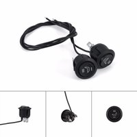Wholesale Switch Car Heater - 1 Pair 12V Universal 3 Pins Round Heater Heated Motorcycles Truck Car Seat Rocker Switch High Low Control on Off Heating