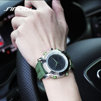 Wholesale Sinobi Male Watch - SINOBI men Sport Watch LED Digital Display Mens Watch male Chronograph Silicone Band Casual wristwatch Gents luminous Clock hour