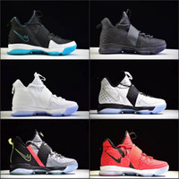 Wholesale 2017 LB James XIV s Mens High Cut Basketball Shoes For Men SBR Christmas Rio Glow Coast Elite Athletic Sports Sneakers