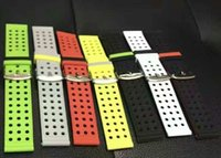 Wholesale Sam S3 - 1pc. 22mm Silicone Rubber Watch Band Double Side Wearing Strap for Sam sung Gear S3 Classic Frontier Wrist Belt Bracelet.
