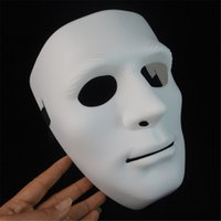 Vente en gros - Terreur Halloween Mask Party Latex Masque Full Face Long Face blanche Masques effrayants pour hommes Femmes Cosplay Mask 009