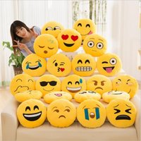 Wholesale Memory Cushion - 2017 New Arrival emoji pillow cushion decoration decorative pillows Smiley Face Pillow emoticons cushions smile emoji pad