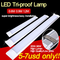 Wholesale 26w Led Tube - Triproof lamp high quality Project Led Panel Tube 20w 26w 36w 60cm 90cm 120cm AC85-265V White color 2700k-6500k SMD28535 Panel tube Light