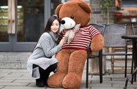 Wholesale Stuffed toy bear large size Teddy bear doll The birthday presents for the girl to hug the bear