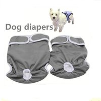 Wholesale Pet Pants For Female - Pet Dog Diapers Durable Dog Nappy Changing Comfy Pants Couches Lavables Stylish Sanitary Dog Pants for S M L