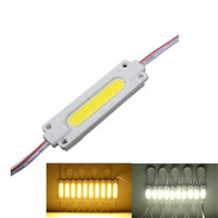 Wholesale Cob Modules - Injection COB LED module light lamp DC12V 2W COB IP65 waterproof LED backlight of LED light module Free shipping