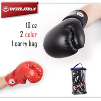 Wholesale Nice Leather Gloves - Boxing Series Nice Carry Bag Adult Competition Training PU Leather boxeo 10 oz Fighting Punching Sparring Boxing Gloves