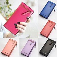 Wholesale Iphone Leather Faux - High quality faux Leather Multi-purpose Clutch Wallet Case for 5s 6 6s plus 7 7 plus samsung S6 S6 edge S7 S7 edge and other Smartphones