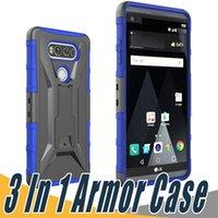 Wholesale M9 Belt - Defender Armor Case Kickstand+Belt Clip Holster Cover For HTC Google Pixel W2100 XL W4100 Desire 520 530 650 555 626 A22 One M9 A9 M10